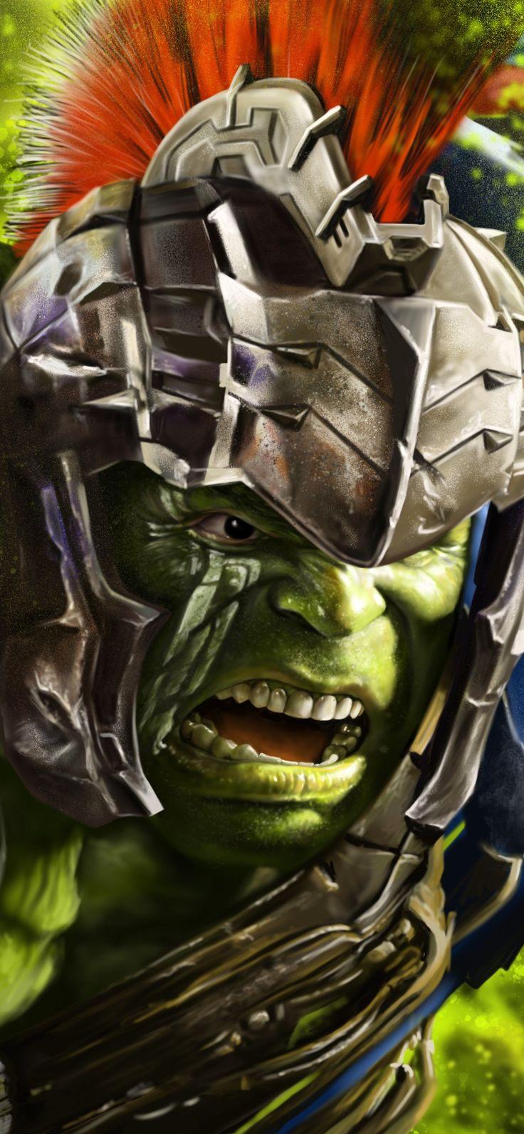 1125x2436 Hulk In Thor Ragnarok 8k Artwork Iphone XS