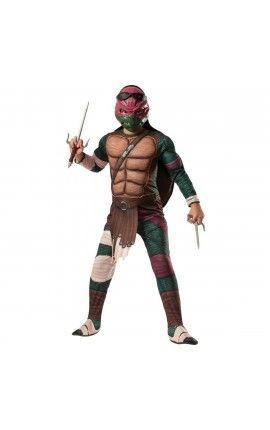 disfraz de raphael musculoso tortugas ninja movie para nio