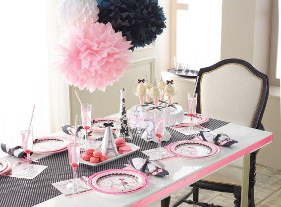 140 best Aniversaire thème Paris- Paris birthday Party images on ...
