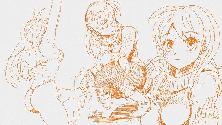 #mahwa #manga #illust #freshpaint #girl #character