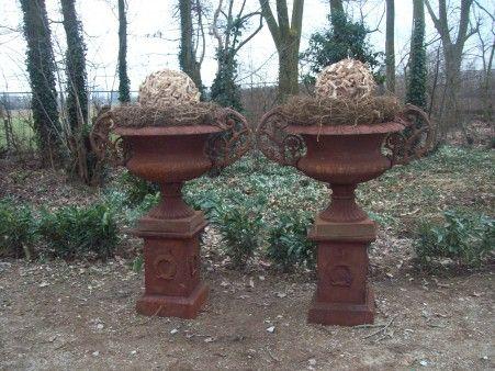 Landelijke stijl wonen interieur tuin en - Smeedijzeren pergola voor terras ...