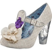 Irregular Choice Cant Touch This Pumps silber - edelight