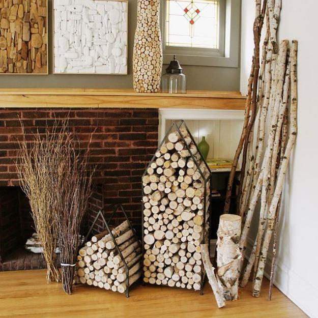 Best Woodpile Art Images On Pinterest Decoration Fire Wood - Creative firewood storage ideas turning wood beautiful yard decorations