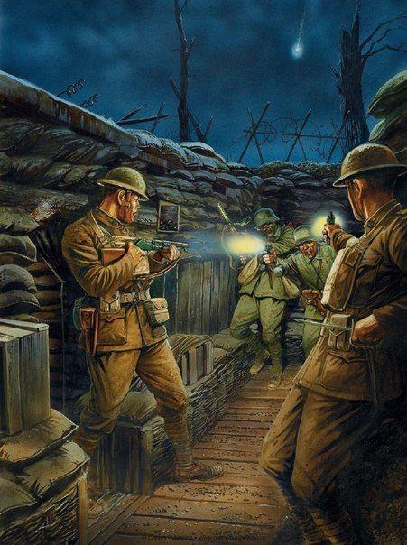 Walka w okopach. US Army vs Stosstruppen 1918