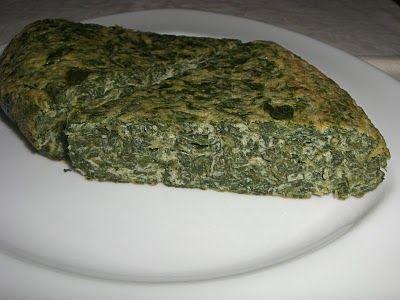 Concha cocina: TORTILLA DE ESPINACAS