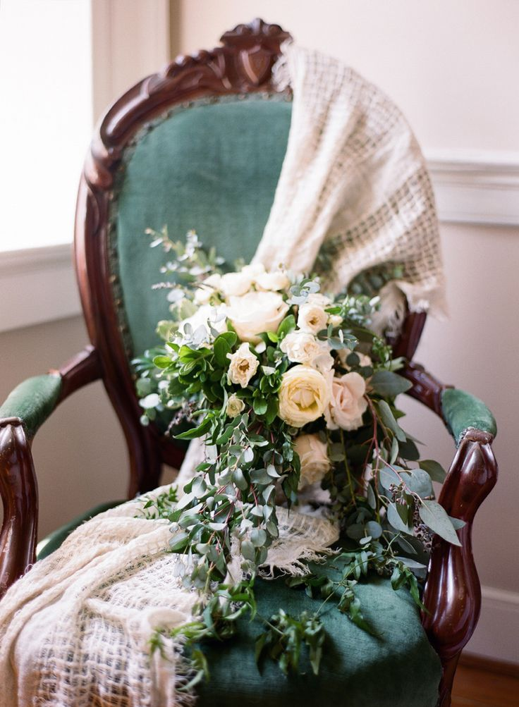 wedding flowers - http://ruffledblog.com/lavender-inspired-wedding-at-springfield-manor
