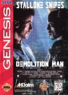 Complete Demolition Man - Genesis