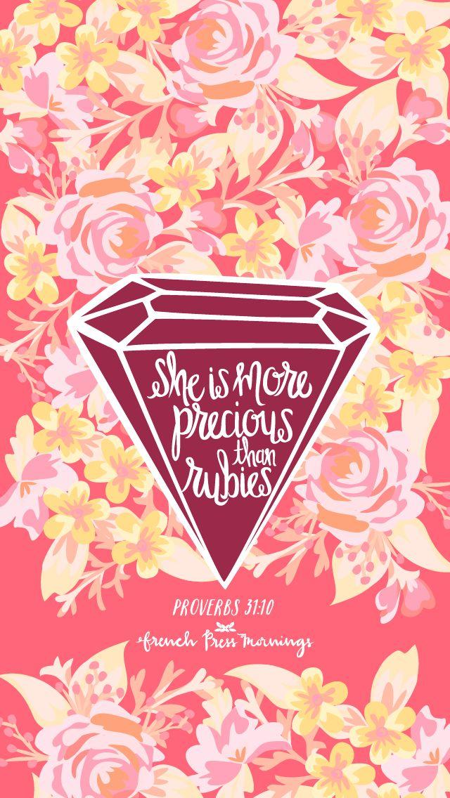 Mujer virtuosa, ¿quién la hallará? Porque su estima sobrepasa largamente a la de las piedras preciosas. Proverbios 31:10