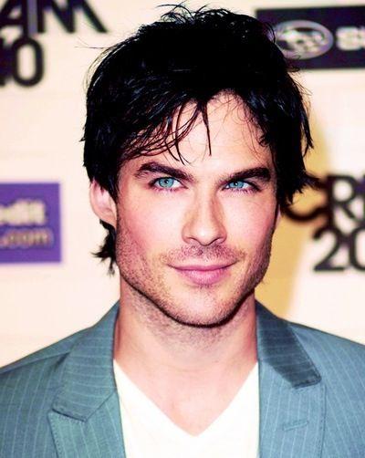 Smirky blue eyes