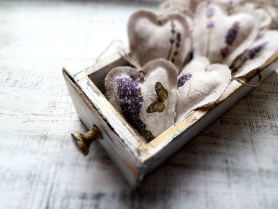 10 lavender shabby chic wedding favors wedding by HandyHappyHearts, $65.00