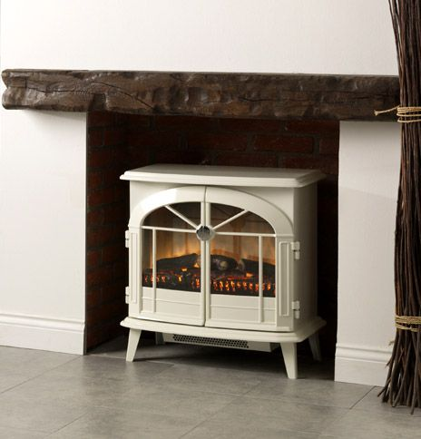 electric log burners and surround - Google Search