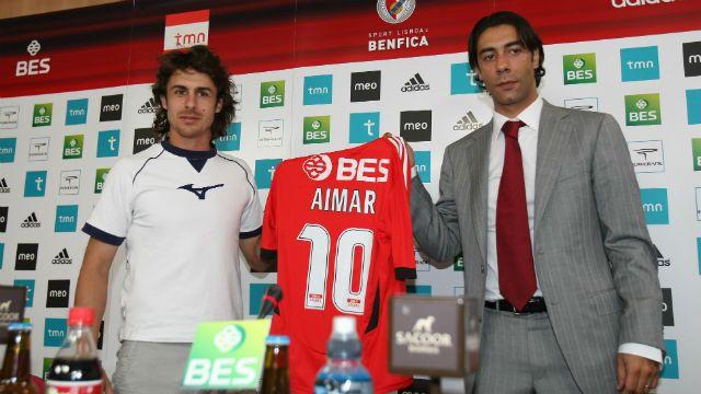 Pablo Aimar e Rui Costa
