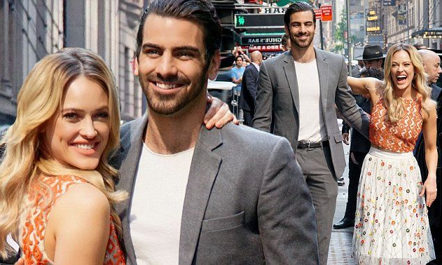 The 29-year-old had won the mirrorball trophy with Nyle DiMarco during the Dancing With The Stars finale the previous evening, and it's also rumoured that she is expecting her first child.