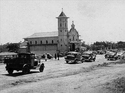 Década de 1930 - Igreja São Judas Tadeu na avenida Jabaquara.