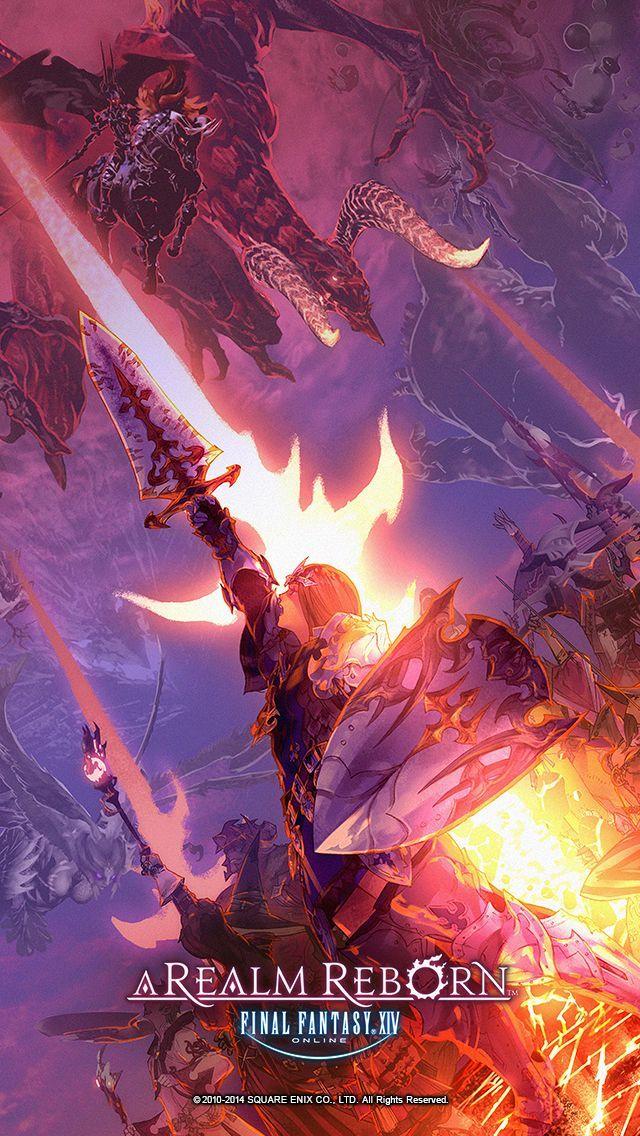 New Final Fantasy XIV: A Realm Reborn Illustrations Make for ...