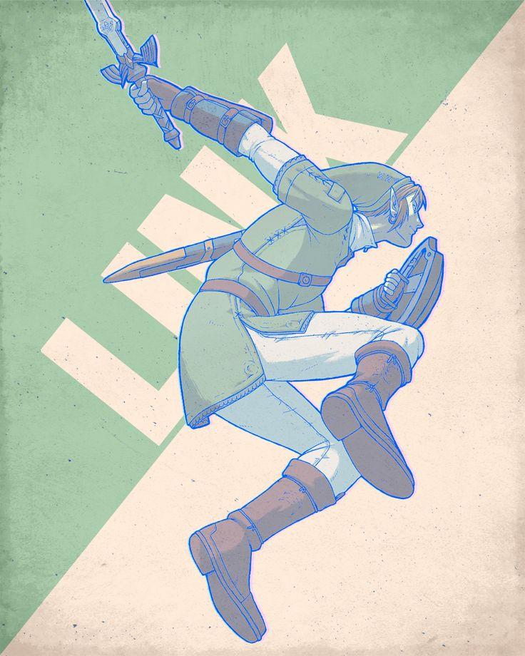 SSBB Characters Link The Legend Of Zelda Pinterest