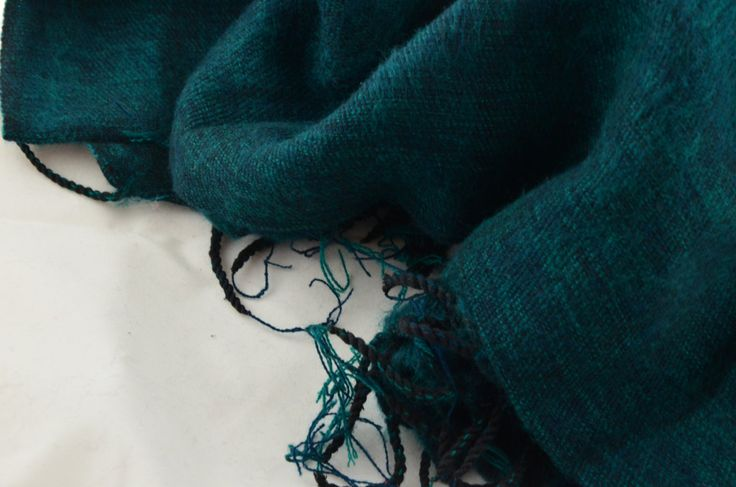 Christmas Green :) by MayaluShawls on Etsy