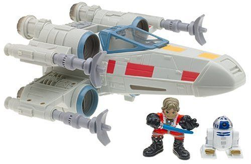 Star Wars Galactic Heroes Luke Skywalker and R2D2 and XWing Fighter by HB101 *** For more information, visit image link.