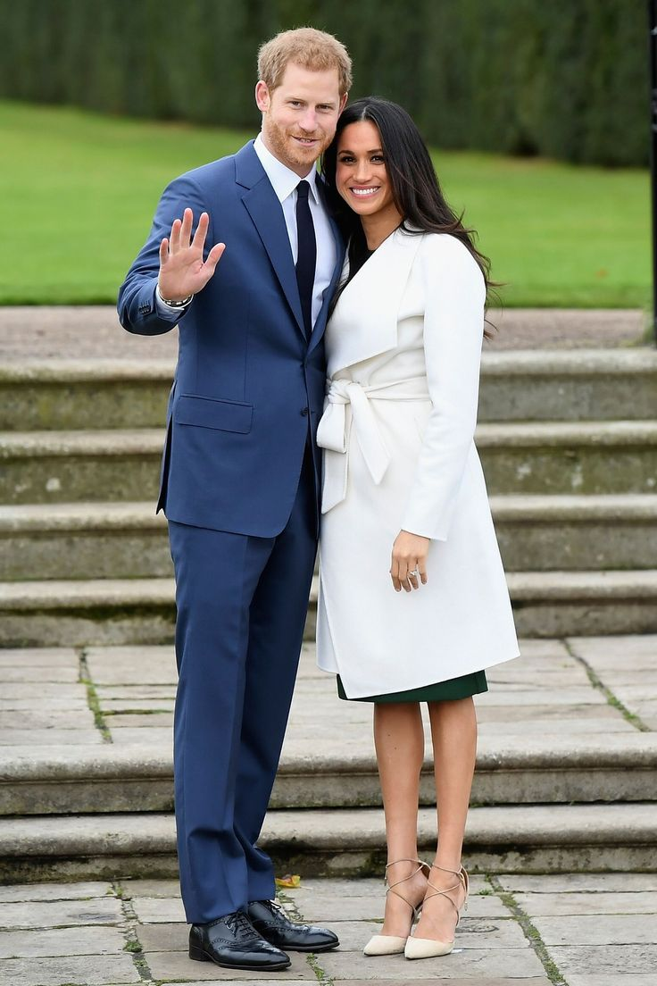 Prince Harry and Meghan Markle's engagement photocall in pictures - HarpersBAZAARUK
