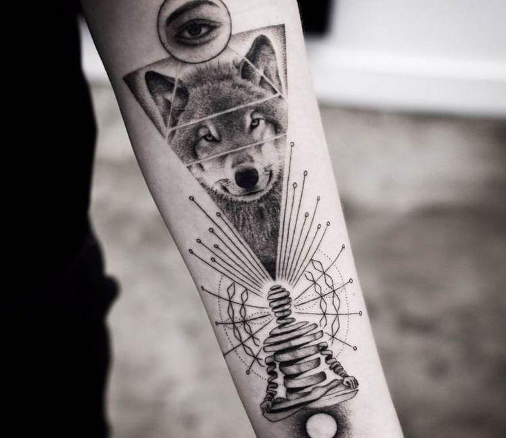 Spiritual tattoo by Balazs Bercsenyi