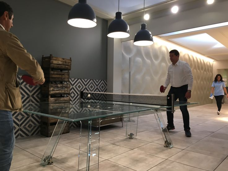 Ping pong, design, challenge. What else?   #pingpong #madeinitaly #luxury #furniture #table #crystal