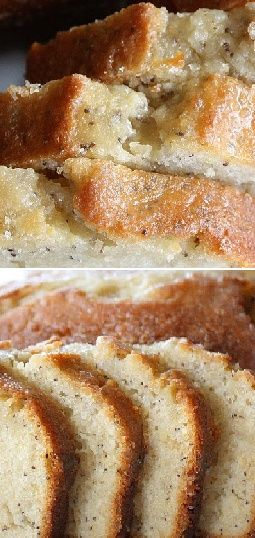 Almond Poppyseed Bread | CookJino