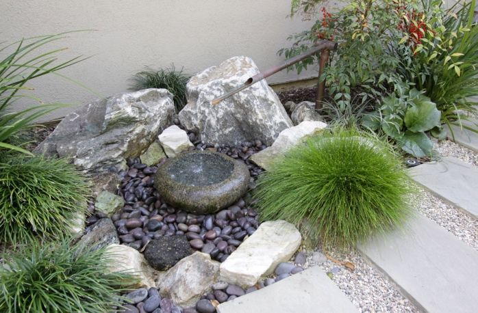 Tranquil Japanese Garden by Freidin Design and Construction