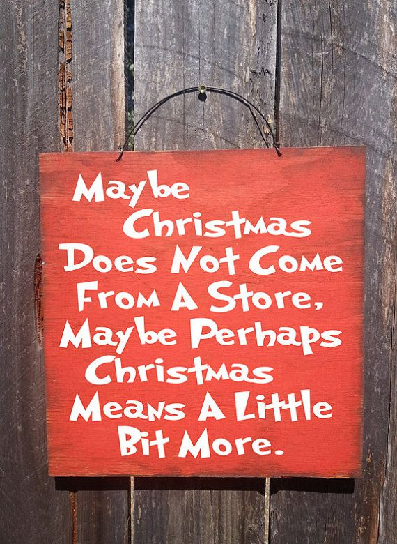 So true! How The Grinch Stole Christmas sign. Kidfolio - the app for parents - kidfol.io