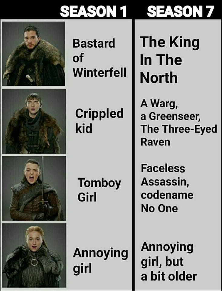 Annoying girl, Game of Thrones.