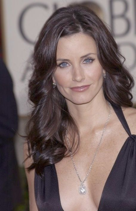 Celebrity prom pictures courtney cox