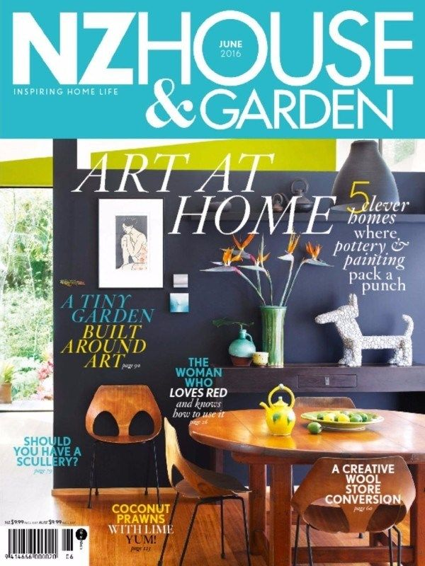 Nz House Garden May 2016 Issue Art At Home