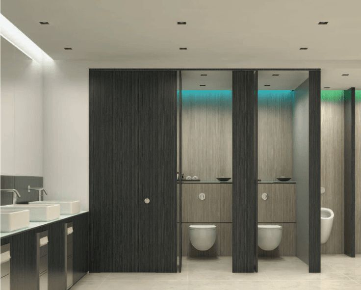 black toilet cubicle - Google Search