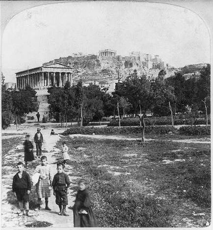 Thission in Athens back in 1901.., #solebike, #Athens, #e-bike tours