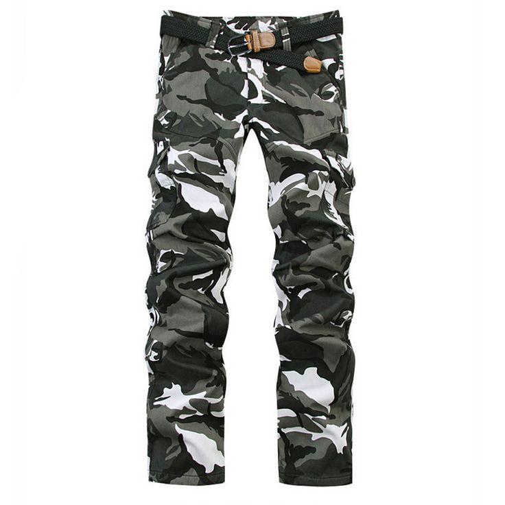 Камуфляжные джинсы