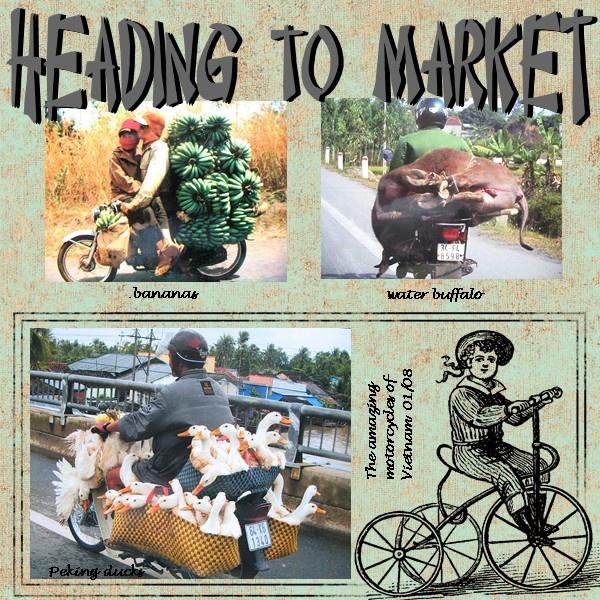 Heading to market - Scrapbook.com