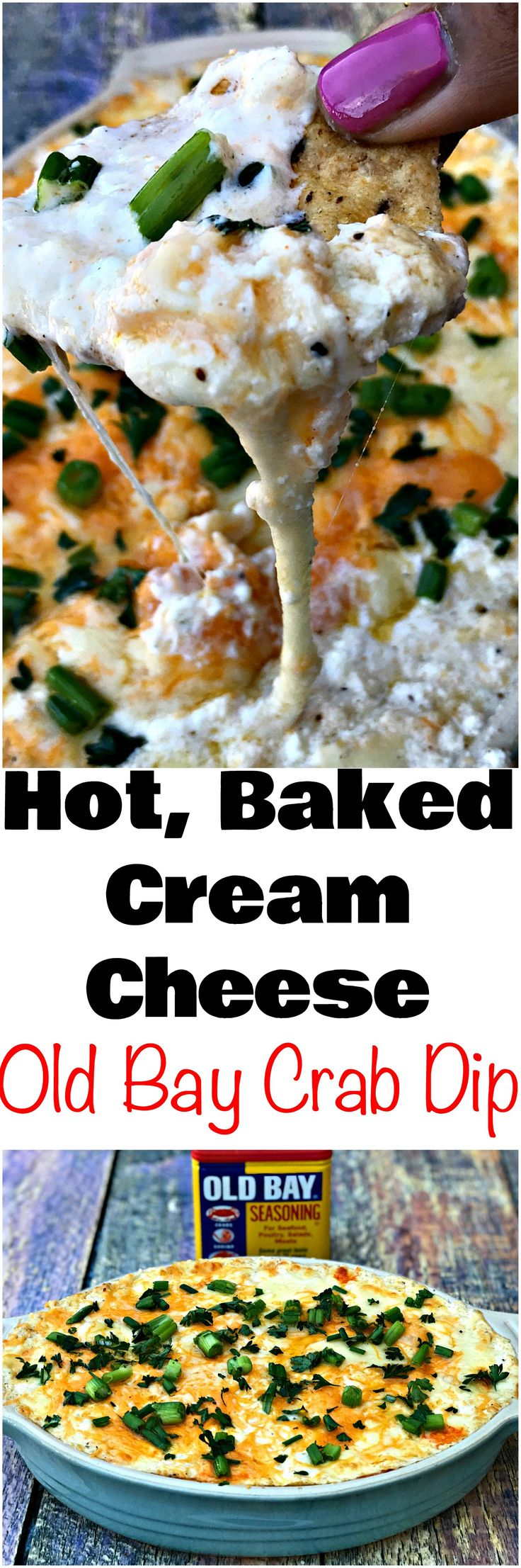 Hot Cream Cheese Old Bay Seafood Crab Dip is a healthy, keto, low-carb recipe made with jumbo lump crab meat, white cheddar cheese, a dash of red pepper flakes. #GameDay #GameDayRecipes #SeafoodRecipes #CrabRecipes #CreoleRecipes #CajunRecipes #LowCarb #LowCarbRecipes #KetoRecipes #Appetizers #Dips