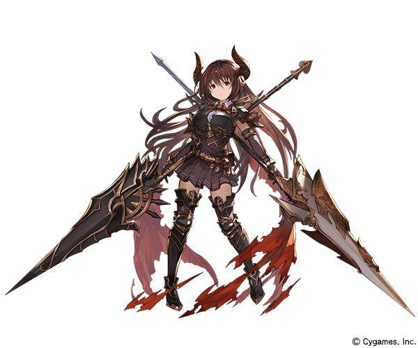 Dark Dragoon Forte. Shadowverse. Art by mushimaro8