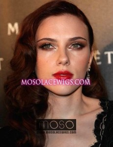 Scarlett Johansson body wave hair Human hair Full lace wigs 20''#99J Hot color, Full lace wigs, - mosolacewigs.com  Scarlett Johansson body wave hair Human hair Full lace wigs 20''#99J Hot color, Full lace wigs,