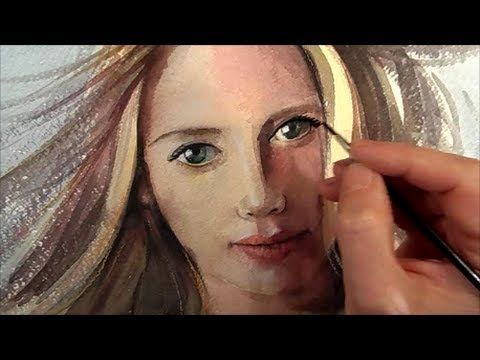 Venus, How to paint a realistic portrait, Speed painting - YouTube
