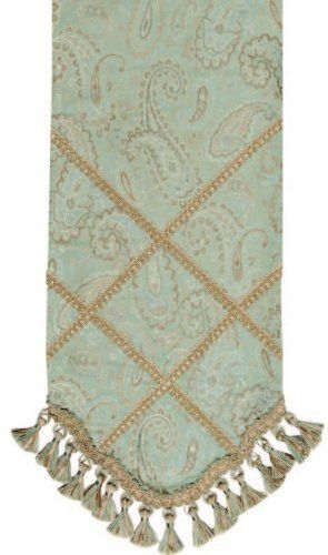 Jennifer Taylor 2781-593 Table Runner, 12-1/2-Inch by 72-Inch, Cover 100-Percent Polyster by Jennifer Taylor. $93.91. With braid and tassel trim. Home decor brings classic style and luxurious comfort to the home. Table runner cover 100-percent polyster. Jennifer Taylor Table Runner, 12-1/2--inch by 72-inch, Cover 100-percent polyster, with braid and tassel trim, Classic Style