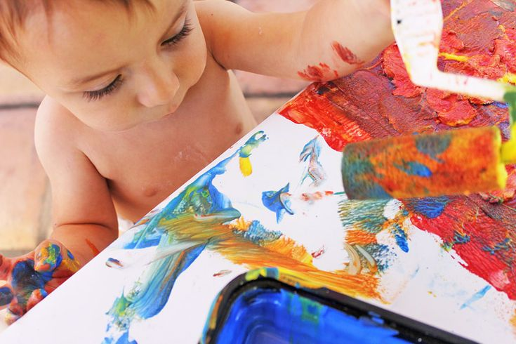 Easy Art Projects for Kids: Clay Resist - Babble Dabble Do