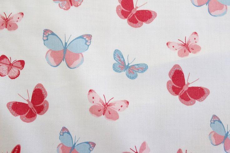 Close Up | Butterfly Garden Cotton Sateen