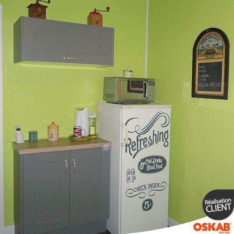 45 best cuisine 2 images on pinterest - Sticker meuble cuisine ...
