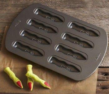 Halloween Finger Cookie Pan.