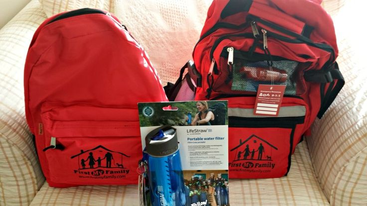 Review of the 4 Person Disaster Kit for Families from First My Family