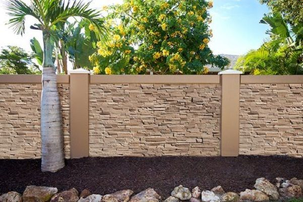 Precast Concrete Fence Panels Retaining Wall Concrete Fence