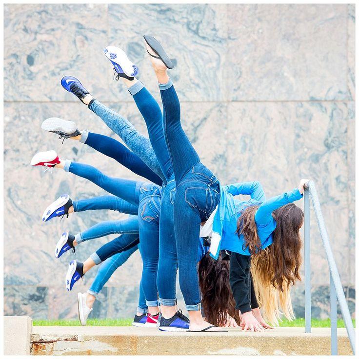 DePaul University Cheerleader and Dance Teams 2016