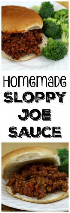 Our homemade recipe for sloppy joe sauce has a smoky flavor. This ain't the lunch ladies sloppy joes. Give it a try the next time you need a quick easy meal.