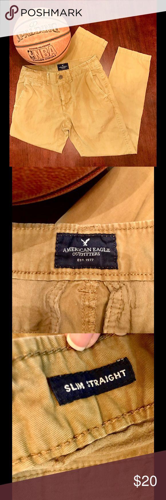 American Eagle 🦅 OutFitters American Eagle 🦅 OutFitters Men's Slim Chino Pants 28x30 American Eagle Outfitters Pants Chinos & Khakis