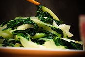 Bok Choy. Food of the Gods! I challenge anyone who enjoys leafy vegetables to try this out and not instantly and insanely fall in love with its crunchy, yet oily texture and its smooth refreshing taste.   I experienced Bok Choy as a young adult and I experience a shiver up my spine and a sudden craving whenever I pass the fresh produce section in my local grocery store